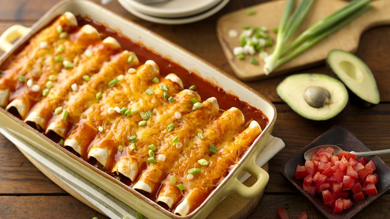 Best Ground Beef Enchiladas Recipe